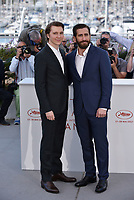 Paul Dano Jake Gyllenhaal<br /> 'Okie' photocall at the 70th Cannes Film Festival, France, May 17, 2017<br /> CAP/Phil Loftus<br /> &copy;Phil Loftus/Capital Pictures /MediaPunch ***NORTH AND SOUTH AMERICAS, CANADA and MEXICO ONLY***