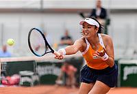 LATISHA CHAN (TPE)<br /> <br /> TENNIS - FRENCH OPEN - ROLAND GARROS - ATP - WTA - ITF - GRAND SLAM - CHAMPIONSHIPS - PARIS - FRANCE - 2018  <br /> <br /> <br /> <br /> &copy; TENNIS PHOTO NETWORK