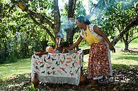 Altar at the ecological park Xanath, Papantla, Veracruz