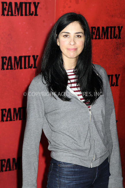 WWW.ACEPIXS.COM<br /> <br /> September 10, 2013 New York City<br /> <br /> Sarah Silverman attending the World Premiere of &quot;The Family&quot; in New York City on September 10, 2013. <br /> <br /> By Line: Nancy Rivera/ACE Pictures<br /> <br /> <br /> ACE Pictures, Inc.<br /> tel: 646 769 0430<br /> Email: info@acepixs.com<br /> www.acepixs.com