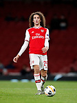 Arsenal's Matteo Guendouzi during the UEFA Champions League match at the Emirates Stadium, London. Picture date: 28th November 2019. Picture credit should read: David Klein/Sportimage