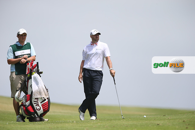 Craig Lee (SCO) relaxed as he heads down the last to complete  64 during Round Two of the Africa Open 2015 at the East London Golf Club, East London, Eastern Cape, South Africa. Picture:  David Lloyd / www.golffile.ie. 06/03/2015