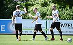 2018-07-14 / Voetbal / Seizoen 2018-2019 / KV Mechelen - Deinze / KV Mechelen en Nikola Storm vieren het eerste doelpunt<br /> <br /> ,Foto: Mpics