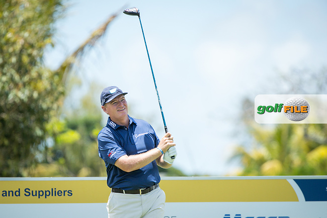 Ernie Els (RSA) during the 1st round of the AfrAsia Bank Mauritius Open, Four Seasons Golf Club Mauritius at Anahita, Beau Champ, Mauritius. 29/11/2018<br /> Picture: Golffile   Mark Sampson<br /> <br /> <br /> All photo usage must carry mandatory copyright credit (&copy; Golffile   Mark Sampson)