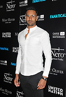 """LONDON, ENGLAND - SEPTEMBER 05: Daniel Elahi at the """"Fanatical"""" world film premiere, The Troxy, Commercial Road on Thursday 05 September 2019 in London, England, UK. <br /> CAP/CAN<br /> ©CAN/Capital Pictures"""