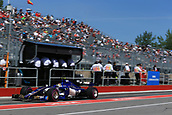 June 10th 2017, Circuit Gilles Villeneuve, Montreal Quebec, Canada; Formula One Grand Prix, qualifying; Pascal Wehrlein – Sauber F1 Team C36