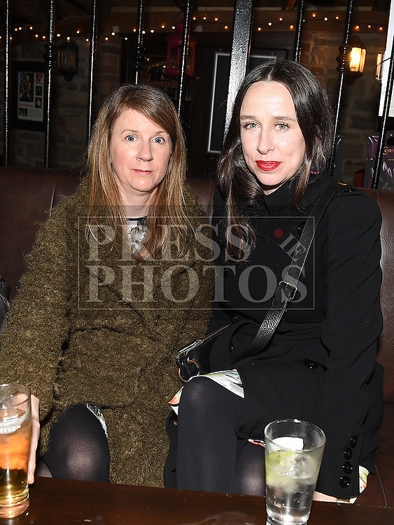 Leslie McGuirk and Jan Brierton at the Cachimbo gig in Sarsfields. Photo:Colin Bell/pressphotos.ie