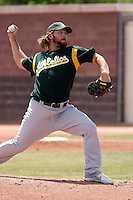 Andrew Carignan -  Oakland Athletics - 2009 extended spring training.Photo by:  Bill Mitchell/Four Seam Images