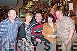 Mike The Pie's Bar, Listowel:  Enjoying the New Years party in Mike the Pie's Bar in Listowel were Jimmy & Nora Finnucane, Jerome McNamara, Betty O'Shea, Tommy Cannifan & Nix Riordan.