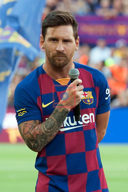 Presentation 1st team FC Barcelona 2019/2020.<br /> Lionel Messi.