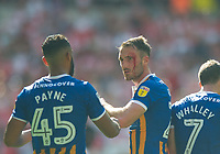 Shrewsbury Alex Rodman during the Sky Bet League 1 Play Off FINAL match between Rotherham United and Shrewsbury Town at Wembley, London, England on 27 May 2018. Photo by Andrew Aleksiejczuk / PRiME Media Images.