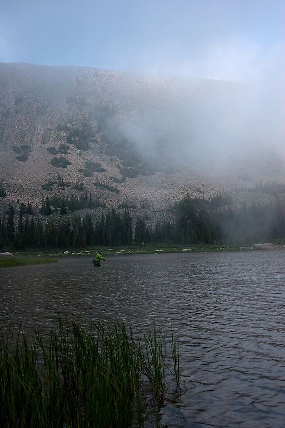 Fishing for Greenback Cutthroat Trout in Lost Lake - Rocky Mountain National Park