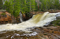 Provo River Falls - Uinta Mountains - Utah