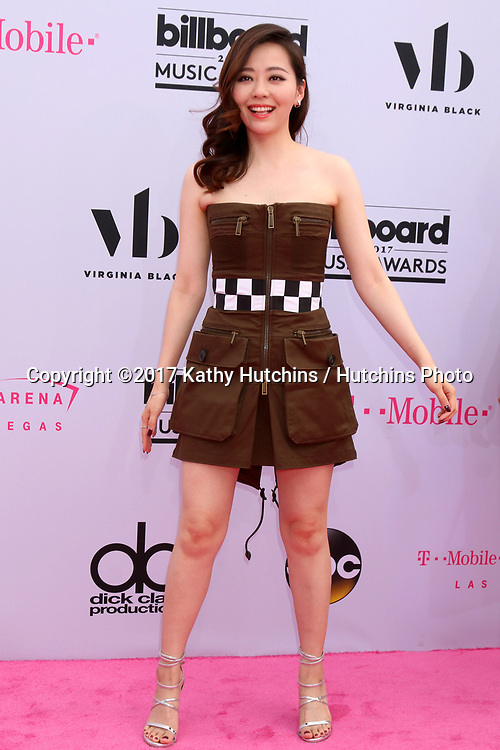 LAS VEGAS - MAY 21:  Jane Zhang at the 2017 Billboard Music Awards - Arrivals at the T-Mobile Arena on May 21, 2017 in Las Vegas, NV