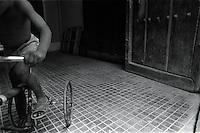 Triciclo, La Habana, Cuba, mayo, 1996.