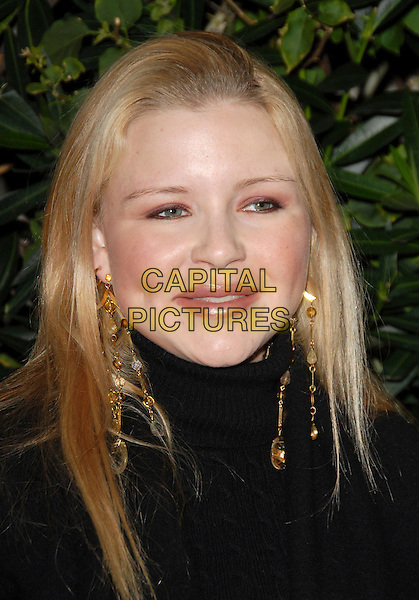 CASEY JOHNSON.Attends The Drinks America Launch Party for Trump Vodka held at Les Deux in Hollywood, California, USA. .January 17th, 2007.headshot portrait dangling gold earrings.CAP/DVS.©Debbie VanStory/Capital Pictures