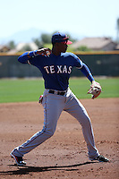 Ti'Quan Forbes - Texas Rangers 2016 spring training (Bill Mitchell)