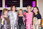 Siobhan Coakley  Katherina Breen and Ava t the Killarney Strictly Come Dancing in aid of the Irish Cancer Society in the INEC on Friday night