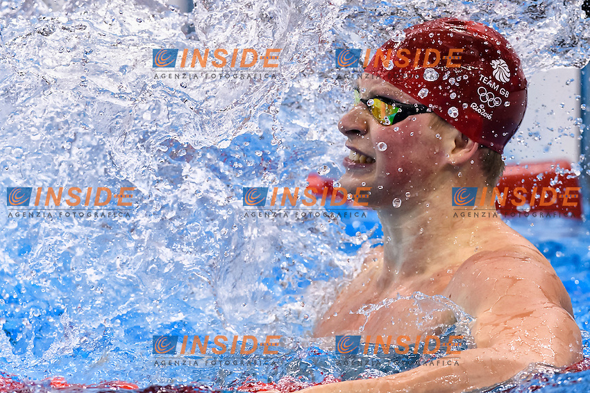 PEATY Adam GBR Gold Medal and World Record Men's 100m Breaststroke <br /> Rio de Janeiro 07-08-2016 Olympic Aquatics Stadium <br /> Swimming Nuoto <br /> Foto Andrea Staccioli/Deepbluemedia/Insidefoto