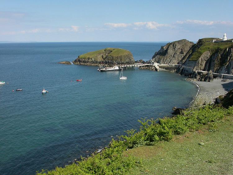 Landing Bay on Lundy, Devon
