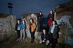 Members of We Will, an advocacy group established by young people to campaign for better youth mental health services in Cumbria, pictured in Maryport, where they meet regularly. Pictured are group members (left to right) Reece Pocklington, 16, Jasmine Dean, 17, Chloe Wilson, 17,  Lucy Steel, 15, Billy Robinson, 18, Hanah Pantling, 18 and Rebecca Woods, 16.