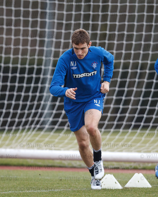 Nikica Jelavic at training