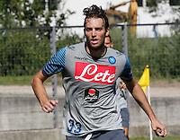 Napoli Calcio ritiro precampionato a Dimaro ( TN)  18 Luglio 2014<br /> nella foto   Michu