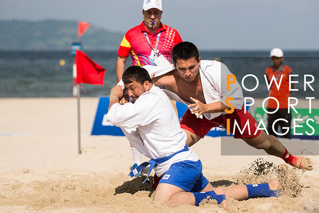 Vietnam vs Turkmenistan during the Sambo competition on Day Nine of the 5th Asian Beach Games 2016 at Bien Dong Park on 02 October 2016, in Danang, Vietnam. Photo by Marcio Machado / Power Sport Images