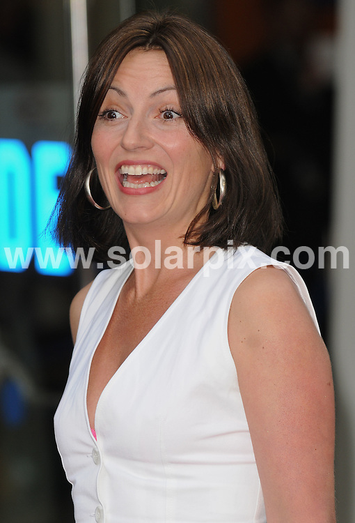**ALL ROUND PICTURES FROM SOLARPIX.COM** **WORLDWIDE SYNDICATION RIGHTS** .World Premiere of new Sex And The City film in London's Leicester Square this evening. 12 May 2008. ..This pic: Davina McCall..JOB REF: 6385 SSD DATE: 12_05_2008 **MUST CREDIT SOLARPIX.COM OR DOUBLE FEE WILL BE CHARGED* *UNDER NO CIRCUMSTANCES IS THIS IMAGE TO BE REPRODUCED FOR ANY ONLINE EDITION WITHOUT PRIOR PERMISSION*