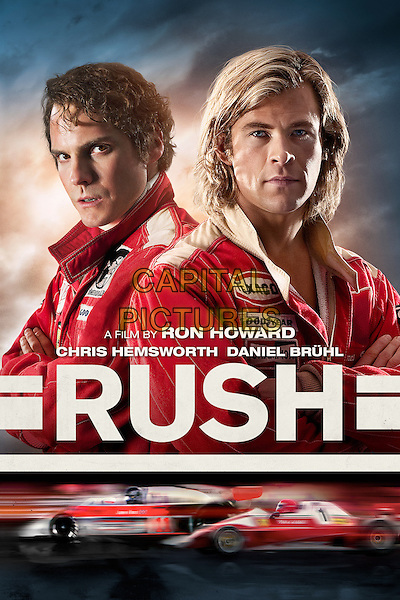 POSTER ART<br /> in Rush (2013) <br /> *Filmstill - Editorial Use Only*<br /> CAP/NFS<br /> Image supplied by Capital Pictures