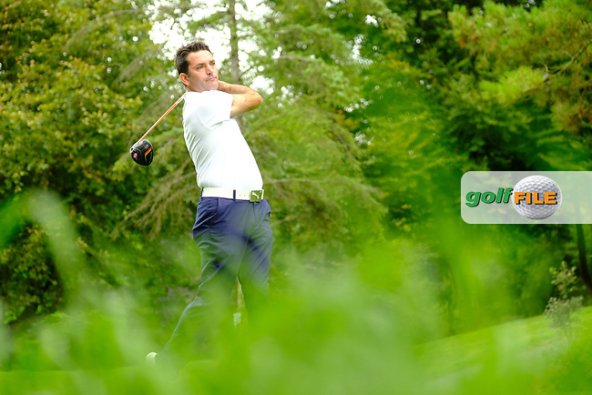 Gary O'Flaherty (Munster) during final day foursomes at the Interprovincial Championship 2018, Athenry golf club, Galway, Ireland. 31/08/2018.<br /> Picture Fran Caffrey / Golffile.ie<br /> <br /> All photo usage must carry mandatory copyright credit (© Golffile | Fran Caffrey)