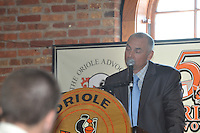 The Orioles inducted Mike Bordick and Richie Bancells into their Hall of Fame at a luncheon on Friday afternoon held at the Warehouse at Camden Yards.