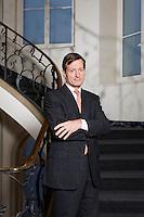 Interview mit Brady W. Dougan CEO von Credit Suisse im Hauptsitz am Paradeplatz 8 am 15. Dezember 2010..Copyright © Zvonimir Pisonic