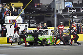 #17: Ryan Reed, DGR-Crosley, Toyota Tundra Dexcom, makes a pit stop