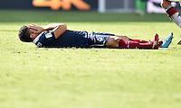 FUSSBALL WM 2014                VIERTELFINALE Frankreich - Deutschland           04.07.2014 Olivier Giroud (Frankreich)  ist enttaeuscht