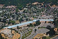 aerial photograph, Marin Civic Center,San Rafael, Marin County, California