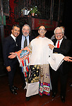 Sergio Trujillo, Robert De Niro, Jonathan Brody and Jerry Zaks during the Actors' Equity Gypsy Robe Ceremony honoring Jonathan Brody for  'A Bronx Tale'  at The Longacre on December 1, 2016 in New York City.