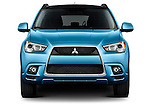 Straight front view of a 2011 Mitsubishi Outlander Sport SE