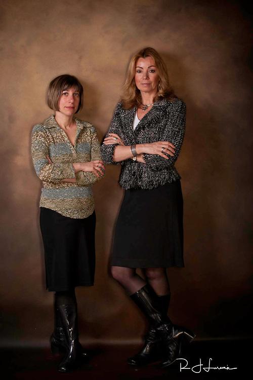 February 18, 2010 /Barbara Laker and Wendy Ruderman / Photo by Bob Laramie