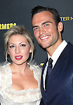 Ari Graynor & Cheyenne Jackson attending the Broadway Opening Night Performance After Party for 'The Performers' at E-Space in New York City on 11/14/2012