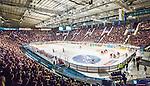 ***BETALBILD***  <br /> Stockholm 2015-09-19 Ishockey SHL Djurg&aring;rdens IF - Skellefte&aring; AIK :  <br /> Vy &ouml;ver Hovet med publik p&aring; l&auml;ktarna under matchen mellan Djurg&aring;rdens IF och Skellefte&aring; AIK <br /> (Foto: Kenta J&ouml;nsson) Nyckelord:  Ishockey Hockey SHL Hovet Johanneshovs Isstadion Djurg&aring;rden DIF Skellefte&aring; SAIK inomhus interi&ouml;r interior supporter fans publik supporters