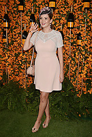 PACIFIC PALISADES, CA - OCTOBER 06: Carly Steel arrives at the 9th Annual Veuve Clicquot Polo Classic Los Angeles at Will Rogers State Historic Park on October 6, 2018 in Pacific Palisades, California.<br /> CAP/ROT/TM<br /> &copy;TM/ROT/Capital Pictures
