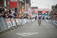 victory once again for European Champion Sanne Cant (BEL/Enertherm-BKCP)<br /> <br /> Jaarmarktcross Niel 2015  Elite Women's Race