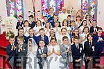 Precious<br /> ------------<br /> Children from Firies National school, pictured after making their 1st Holy Communion in St Gertrudes Church in the village last Saturday with their teacher Helen Barry and Fr John Ahern.