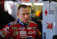 Apr 24, 2009; Talladega, AL, USA; NASCAR Sprint Cup Series driver Mark Martin during practice for the Aarons 499 at Talladega Superspeedway. Mandatory Credit: Mark J. Rebilas-