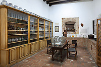 Pharmacy, in the Museo de las Casas Reales, or Museum of the Royal Houses, in the Colonial Zone of Santo Domingo, capital of the Dominican Republic, in the Caribbean. The museum was opened in 1973 to celebrate the history and culture of the Spanish inhabitants of the colony, and is housed in a 16th century colonial palace originally serving as governor's office and Audiencia Real or Royal Court. Santo Domingo's Colonial Zone is listed as a UNESCO World Heritage Site. Picture by Manuel Cohen