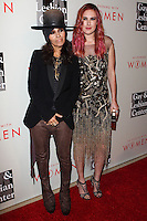 "BEVERLY HILLS, CA, USA - MAY 10: Linda Perry, Rumer Willis at the ""An Evening With Women"" 2014 Benefiting L.A. Gay & Lesbian Center held at the Beverly Hilton Hotel on May 10, 2014 in Beverly Hills, California, United States. (Photo by Celebrity Monitor)"