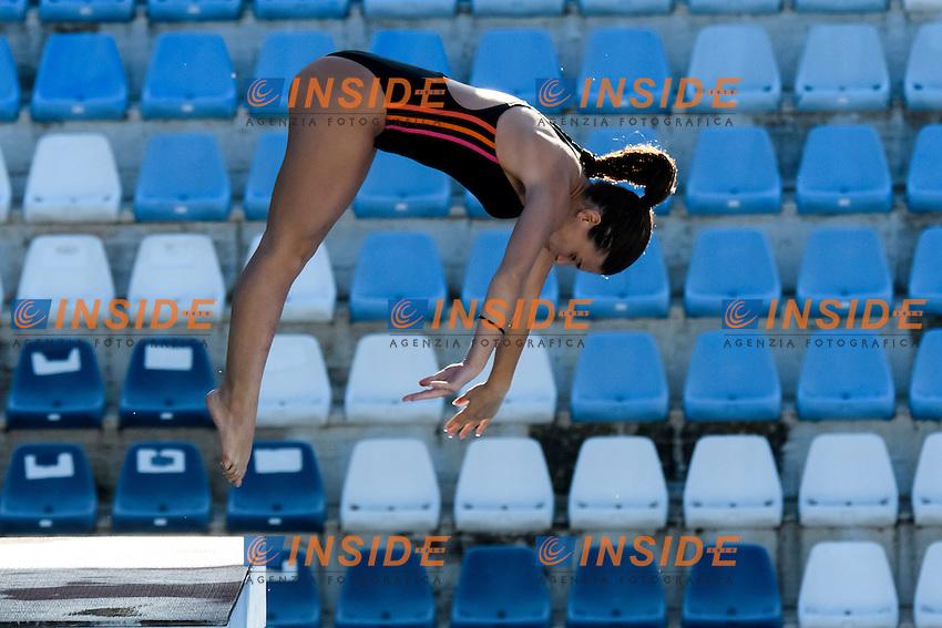 Francesca De Gregorio <br /> 10m piattaforma donne <br /> Roma 20-06-2016 Stadio del Nuoto Foro Italico Tuffi Campionati Italiani <br /> Foto Andrea Staccioli Insidefoto