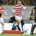 05/02/2011   Copyright  Pic : James Stewart.sct_jsp011_hamitlon_v_dundee_utd  .::  MICKAEL ANTOINE CURIER CELEBRATES  ::.James Stewart Photography 19 Carronlea Drive, Falkirk. FK2 8DN      Vat Reg No. 607 6932 25.Telephone      : +44 (0)1324 570291 .Mobile              : +44 (0)7721 416997.E-mail  :  jim@jspa.co.uk.If you require further information then contact Jim Stewart on any of the numbers above.........