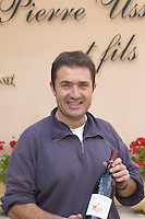Thierry Usseglio owner domaine p usseglio chateauneuf du pape rhone france